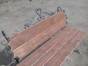 Кованая металлическая лестница Акант