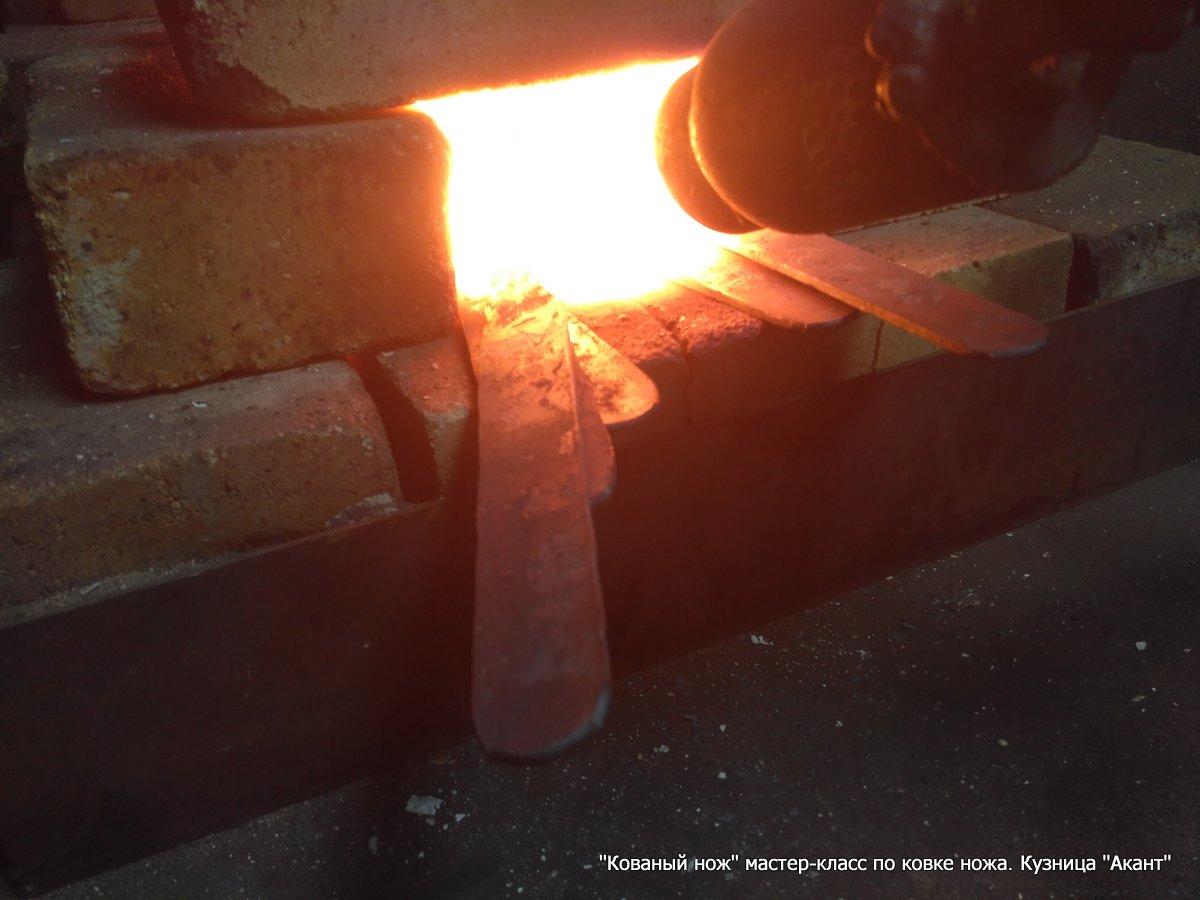 «Финский нож, Якутский нож» — мастер-класс по изготовлению кованых ножей