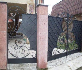 """Кованые ворота. Кузница """"Акант"""""""