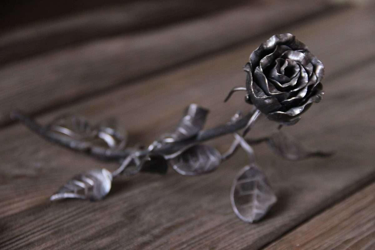 "кованая роза, Кузница ""Акант"". Мастер-класс."