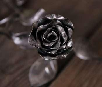 """Кованая роза. Кузница """"Акант"""""""